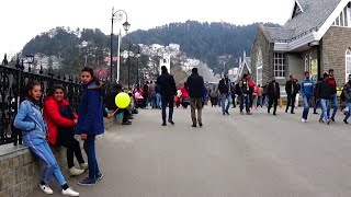 Amazing View of Mall Road Shimla