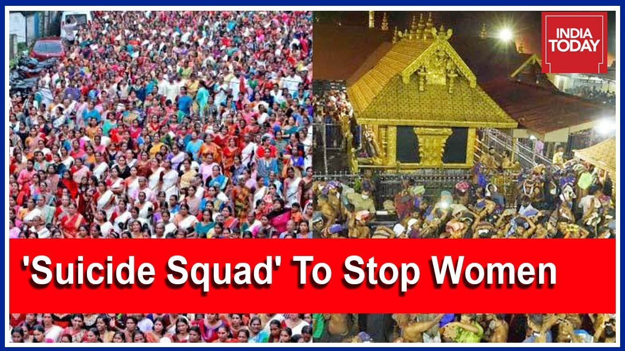 Shiv Sena Setting Up 'Suicide Squad' To Stop Women Entering Sabarimala