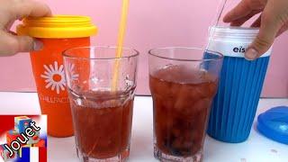 Comparatif de slushy maker - Chillfactor vs Icemaxx avec du thé glacé. Lequel fonctionne le mieux?