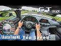 Mercedes AMG GT C Coupe | 307km/h!! | AUTOBAHN POV by AutoTopNL