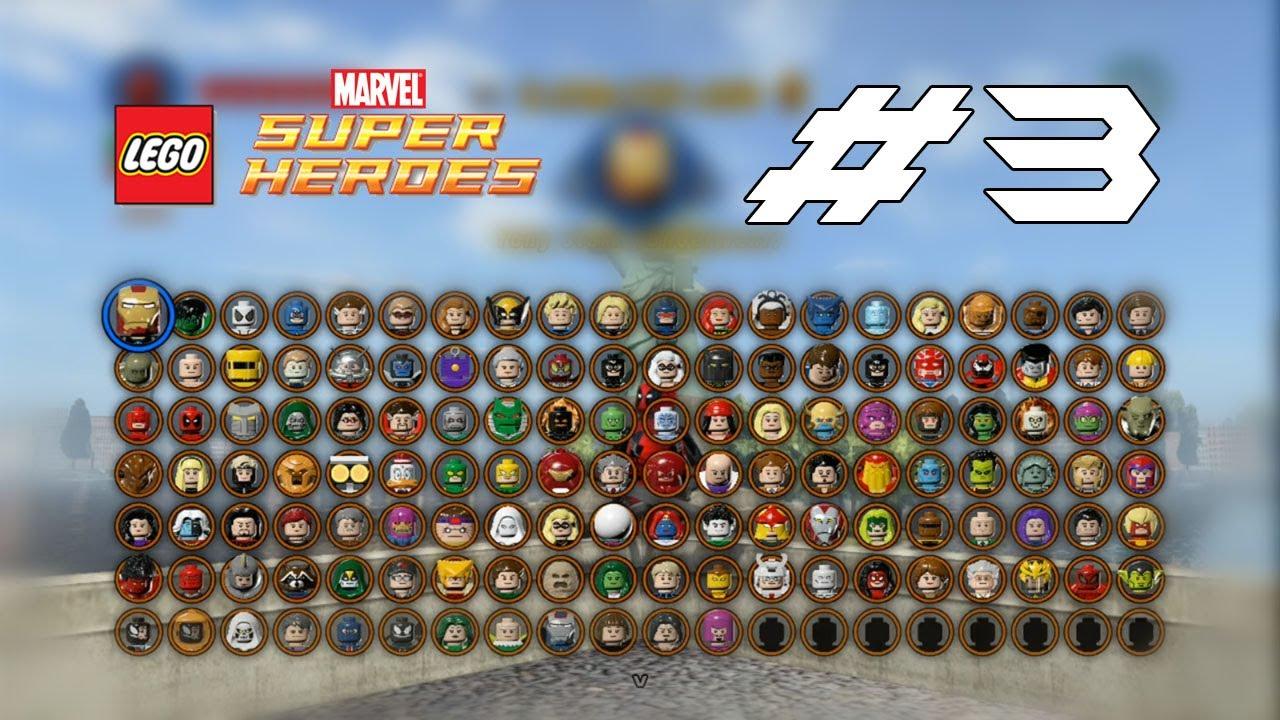 Lego marvel les personnages 3 3 youtube - Tous les personnages de violetta ...