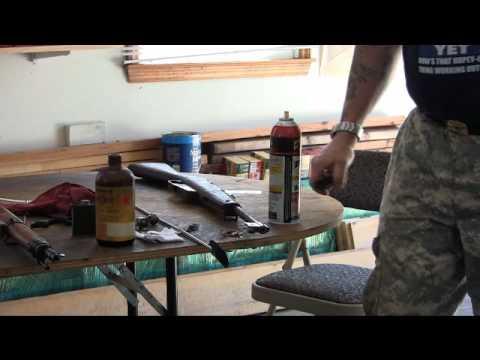 Gun Restoration Dark Rusty Bores