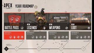 + APEX LEGENDS + Year 1 ROADMAP REVEALED + LEAK + More Background Information +