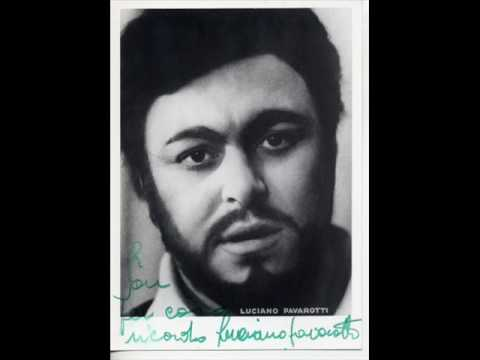 Luciano Pavarotti - Cujus Animam - *Live* 1967