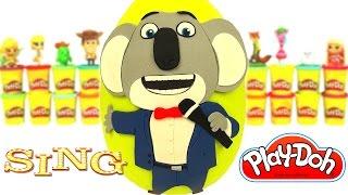 Huevo Sorpresa Gigante de Sing ¡Ven y Canta! en Español de Plastilina Play Doh