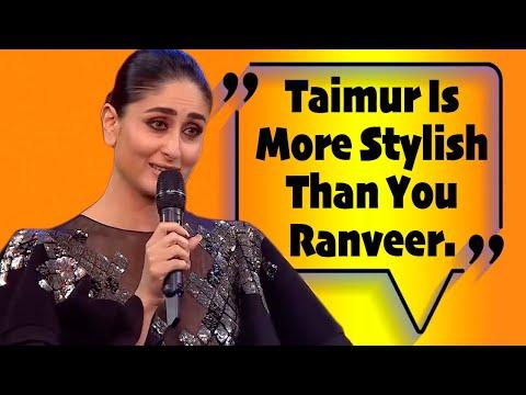 Kareena Kapoor Accepts India's Most Stylish Award On Behalf Of Taimur Ali Khan