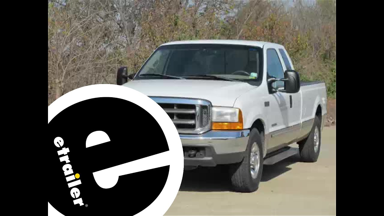 Install Trailer Wiring 1999 Ford F250 118243 Etrailercom Youtube 99 F 150 Headlights Schematic