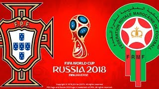 Portugal vs. morocco | fifa world cup russia 2018 | pes 2018