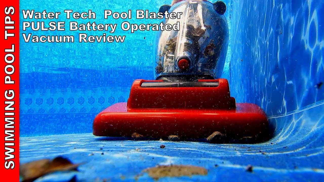 Pool Blaster Pulse Battery Operated Pool & Spa Vacuum with Mountable ...