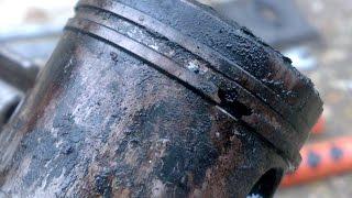 Убитые маслом двигатели бензокос и бензопилы.