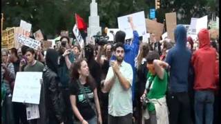 City Room: N.Y.P.D. Video of Occupy Wall Street protest - 1