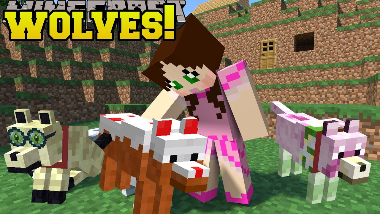 Stacy's Wolves - Mods - Minecraft - CurseForge