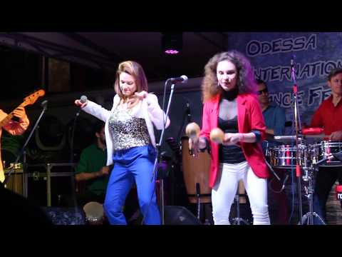 Dislocados, first Ukrainian salsa band at OIDF -2017!