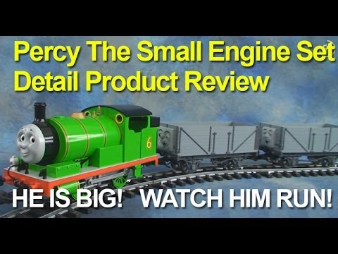 Percy the Small Engine set in Large Scale by Bachmann Trains (Garden Trains)