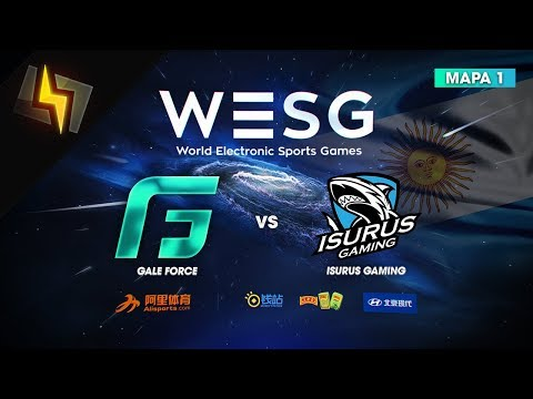 [ES] Gale Force vs Isurus Gaming | WESG Argentina | GRAN FINAL | BO3 | Overpass