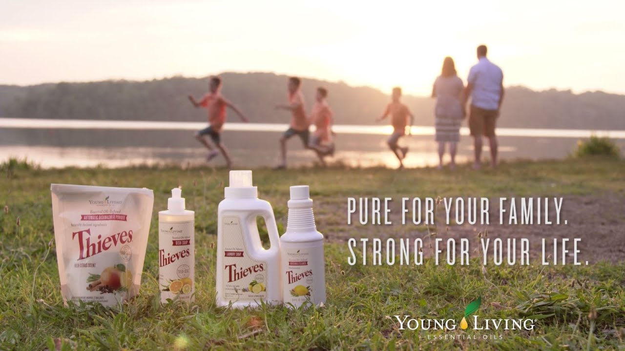 Thieves Essential Oil Product Line | Thieves Oil Uses | Young Living