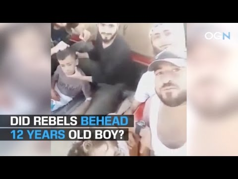War Propaganda: Did Rebel Group Execute 12 Year Old Palestinian Boy