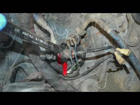 Mercedes W123 Temperature Sensor Replacement DIY
