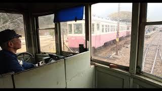 【4K60P】片上鉄道雨の前面展望 2019年2月(おまけ)