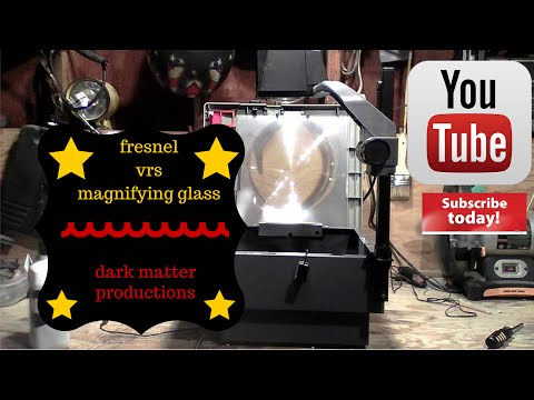 fresnel lens vs magnifying glass