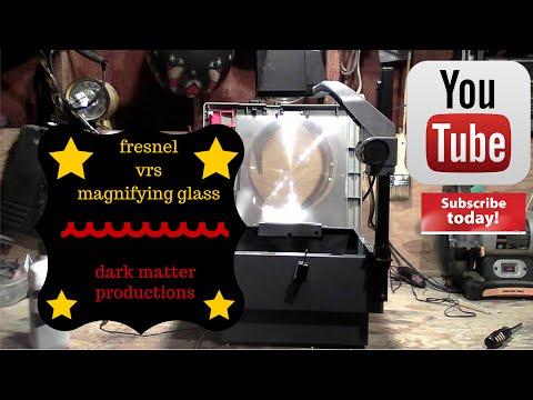 fresnel lens vs magnifying glass