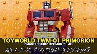 ToyWorld TW-M01 Primorion (Transformers Masterpiece Optimus Prime) Review