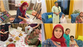 Iftar party preparation | ammi & bhabhi saved us | Riza rehan's fight | ibrahim family |ramadan vlog
