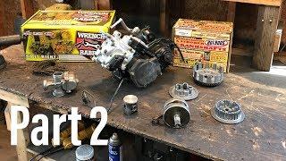 rebuilding the CR 125 engine part 2