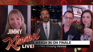 Jimmy Kimmel Asks Celebrity Super-Fans About Bachelor Finale