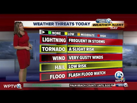 South Florida weather 6/7/17 - 4am report