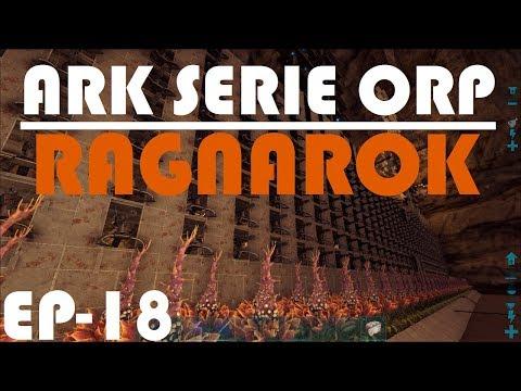 ARK RAGNAROK - GRANJA ACHATINAS/ESCARABAJOS - EL TERROR DE LAS PROFUNDIDADES!!! - SERIE ORP #18