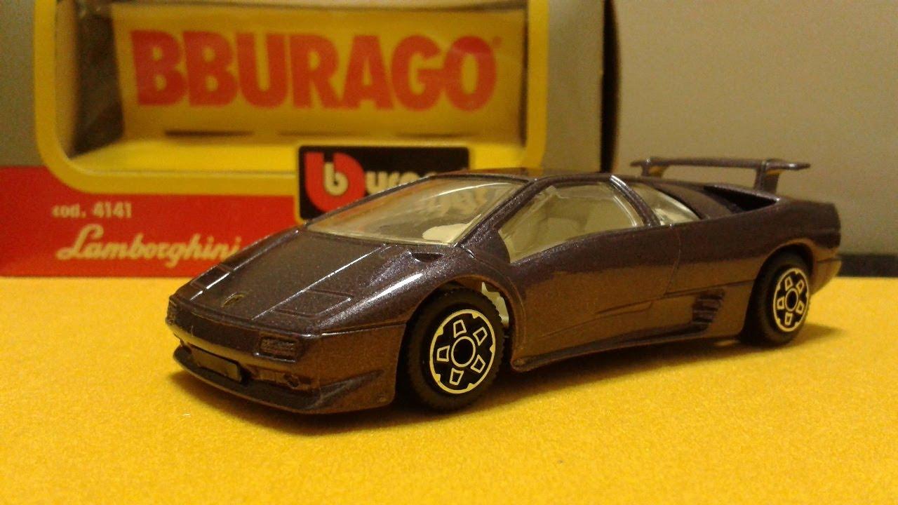 Modellismo Lamborghini Diablo Bburago 1 43 Youtube