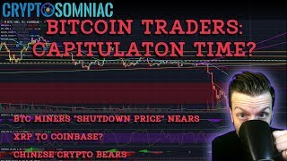 "Bitcoin Traders Capitulation Time? | BTC Miners ""Shutdown Price"" 
