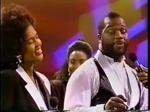 Bebe & Cece Winans ftMavis Staples 'I'll Take You There' Soul Train November 2, 1991