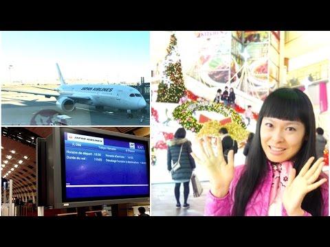 Joyeux Noël [Travel routine] Comment je voyage en avion France-Japon, aéroports Paris & Tôkyô Haneda