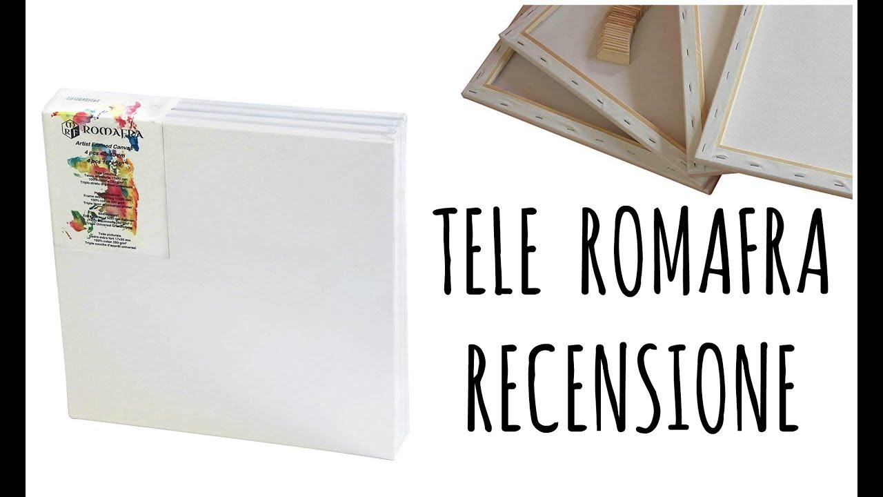TELE ROMAFRA: piccolo prezzo ed alta qualità! RECENSIONE e come scegliere  una tela. Arte per Te