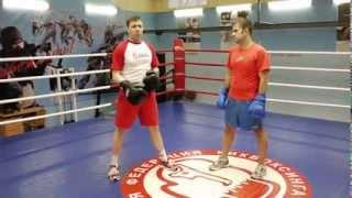Левша и правша в боксе