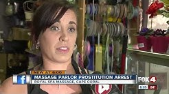 Prostitution Arrest at Cape Coral Massage Spa