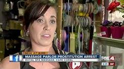 Prostitution Arrest at Cape Coral Massage Spa