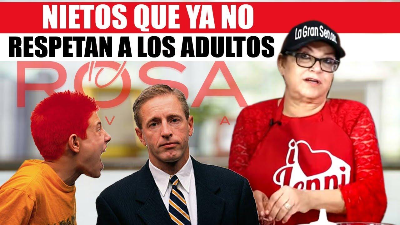 NIETOS que YA NO y RESPETAN a los ADULTOS | Doña Rosa Rivera y Pedro Rivera JR