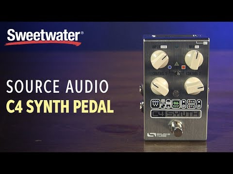 Source Audio C4 Synth Pedal Demo