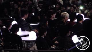 141203 Mnet Asian Music Award 2014 - Eason Chan performance reaction