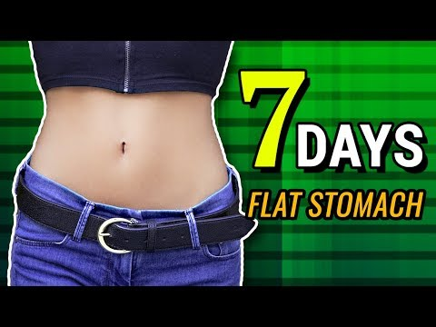 Flat Stomach In 7 Days Challenge – Home Workout