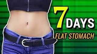 Flat Stomach In 7 Days Challenge - Home Workout