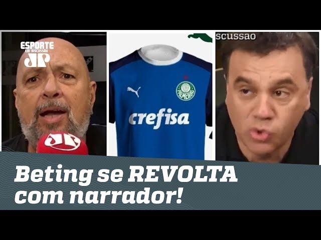 """""""RIDÍCULO!"""" Narrador DETONA nova camisa do Palmeiras, e Mauro Beting SE REVOLTA!"""