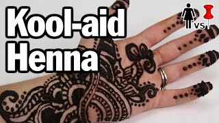 DIY Kool-aid Henna, Corinne VS Pin #4