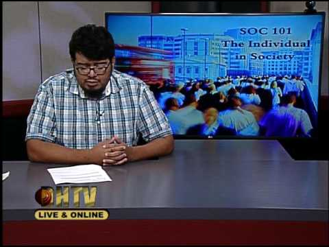 SOC101 The Individual in Society #04 Fall 2016