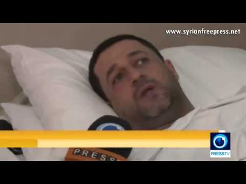 PressTV journalist Hossein Mortada injured in Syria [Daraa] will return to war zone