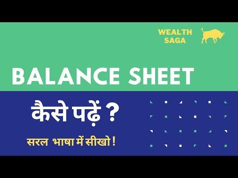 Balance Sheet कैसे पढ़ें | Moneycontrol से Balance Sheet Read करें | Stock Market for Beginners