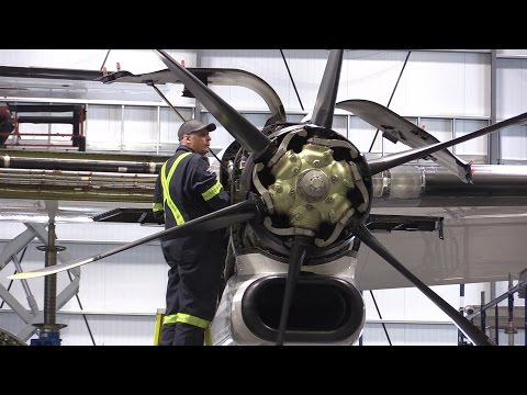 VIDEO: Interesting Spaces - See where our airplanes are fixed